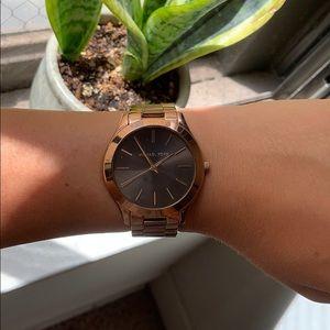//MICHAEL KORS// Rose Gold Watch